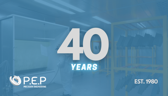Celebrating 40 years of Precision Engineering Pieces, Tewkesbury